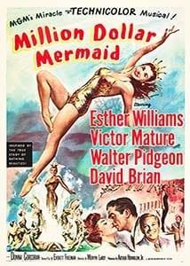 miliondolarmermaid filmy o plywaniu