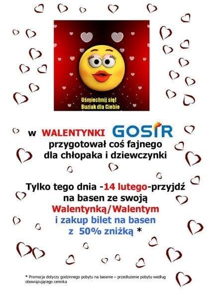 Walentynki na basenie GOSiR Gniezno!