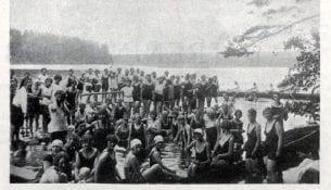 kapiel w jeziorze