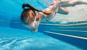 nauka plywania dla dzieci