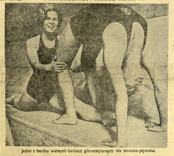 skoki do wody cwiczenia