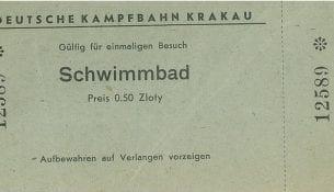 Bilet wstępu na basen w Krakowie