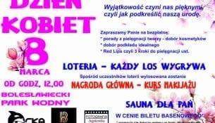 Dzien Kobiet Park Wodny Orka Boleslawiec