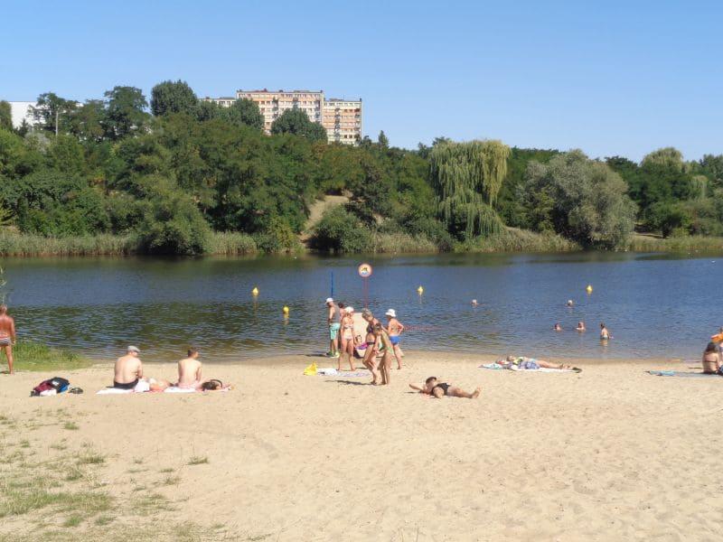 Jezioro Winiary Plaza